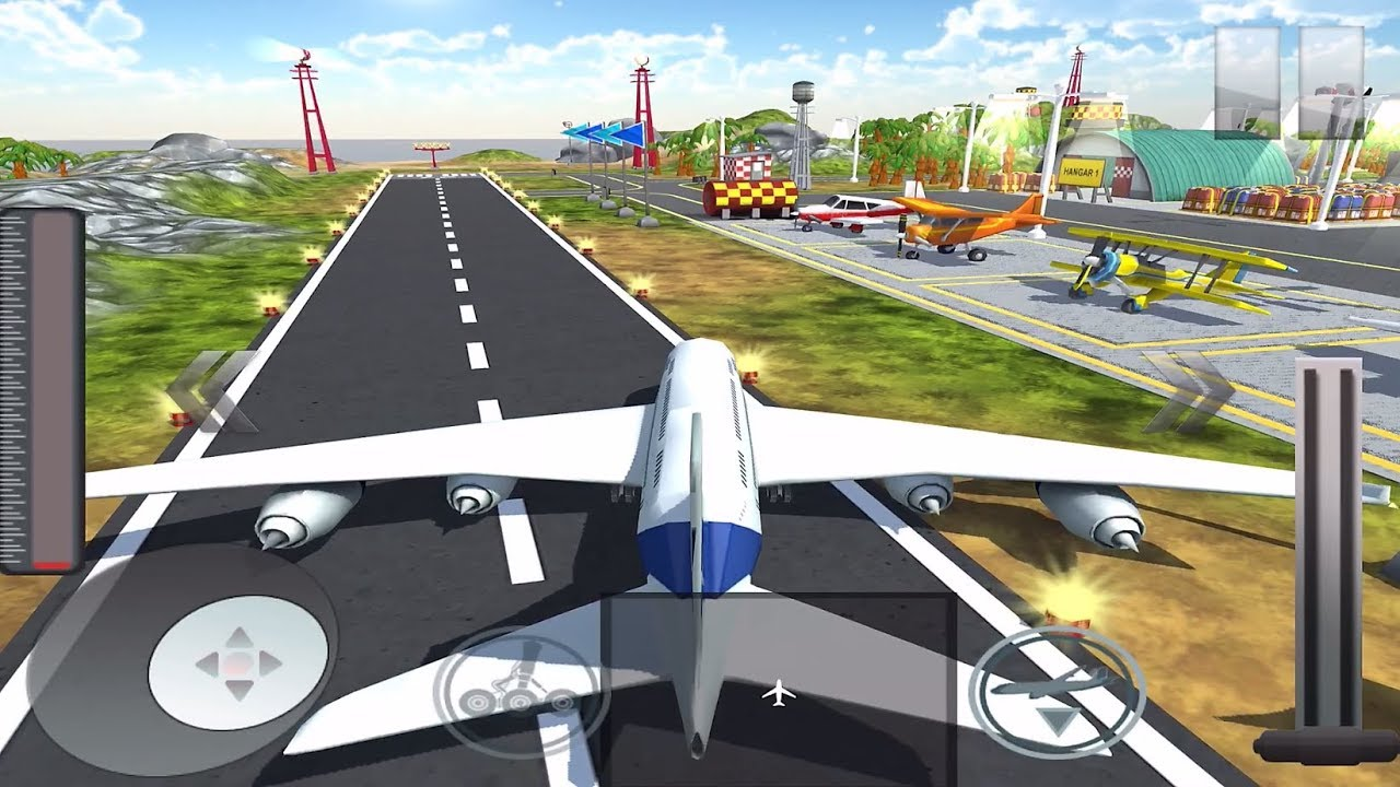 Airplane Flight Simulator 2018 Mobile/Tablet Game - YouTube