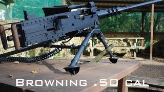 Browning .50 cal Paintball Machine Gun