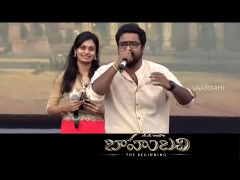 Keeravani SPL Songs Performace At Baahubali - The Beginning -Audio Launch   Prabhas, SS Rajamouli