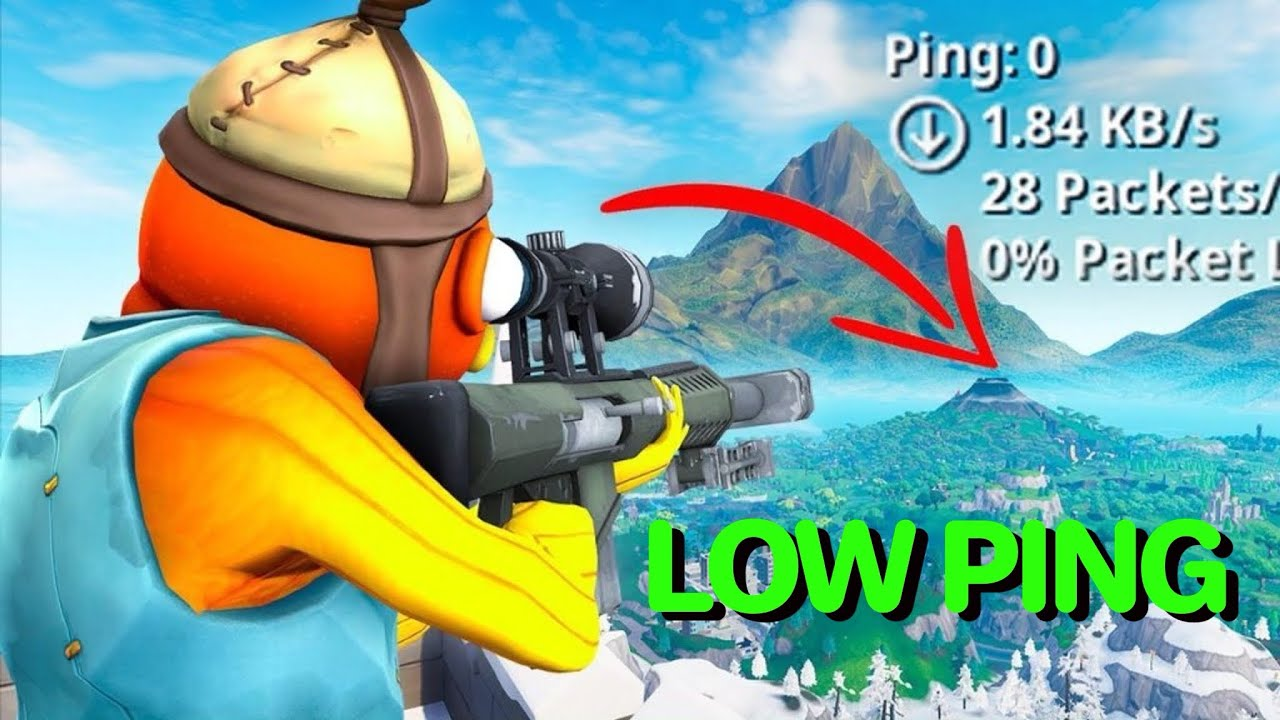 How To Get Lower PING On Fortnite
