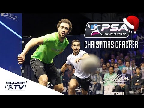Squash: Christmas Cracker - Ashour v Abouelghar - British Open 2017 - Full Match