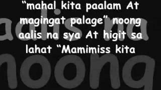 Alaala Nalang lyrics by Hambog Ng Sagpro Krew