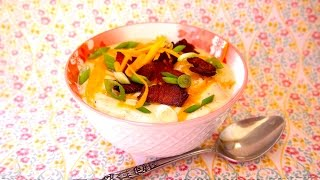 How To Make Loaded Baked Potato Soup - Potato Soup Recipe