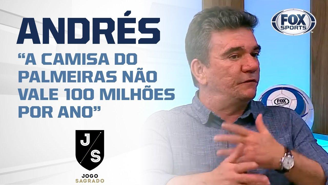BRASILEIRÃO VIRANDO O ESPANHOL? Andrés Sanchez responde superioridade de Flamengo e Palmeiras
