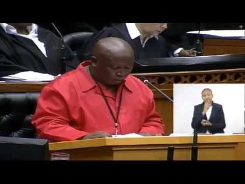 WATCH: Julius Malema accuses ANC government of massacring miners at Marikana
