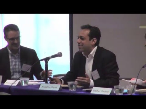 March 7, 2016: Panel 4: What Needs to Be Considered in Governance?