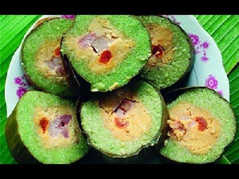 Đặc sản Trà Vinh - Bánh tét Trà Cuôn
