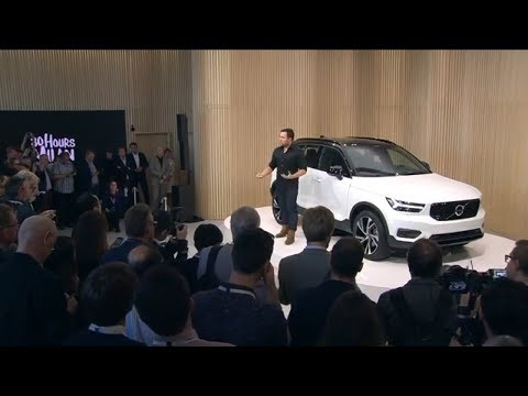 2018 The New Volvo XC40 2018 Milan Reveal