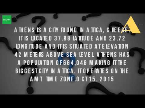 Where Is The Location Of Athens?