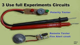 3 Simple Experiments Circuits