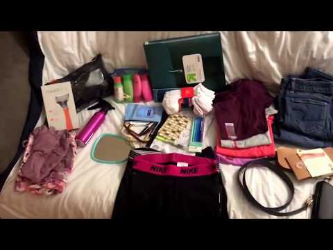 Female BMT packing list!! What I'm packing for BMT