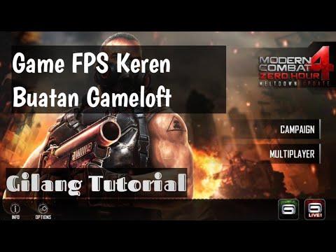 Cara Download & Install Game Modern Combat 4 HD (Offline)
