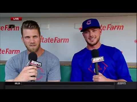 Bryce Harper & Kris Bryant Joint Interview (Full HD)