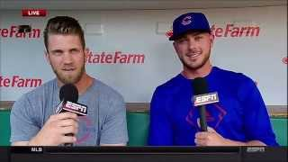 Bryce Harper & Kris Bryant Joint Interview (Full HD)