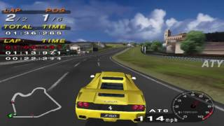 PCSX2 Driving Emotion Type-S West Coast Ferrari F50 GAMEPLAY