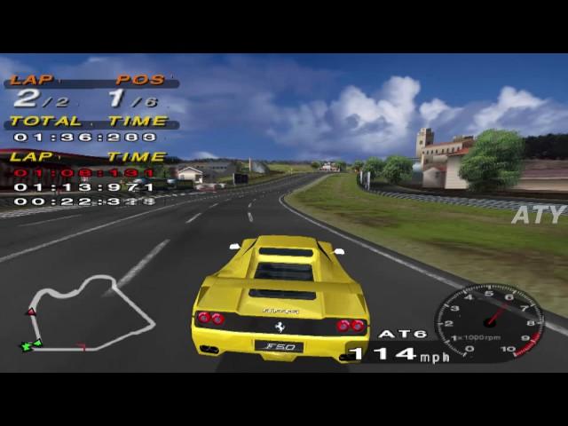 PCSX2 Driving Emotion Type-S West Coast Ferrari F50 GAMEPLAY
