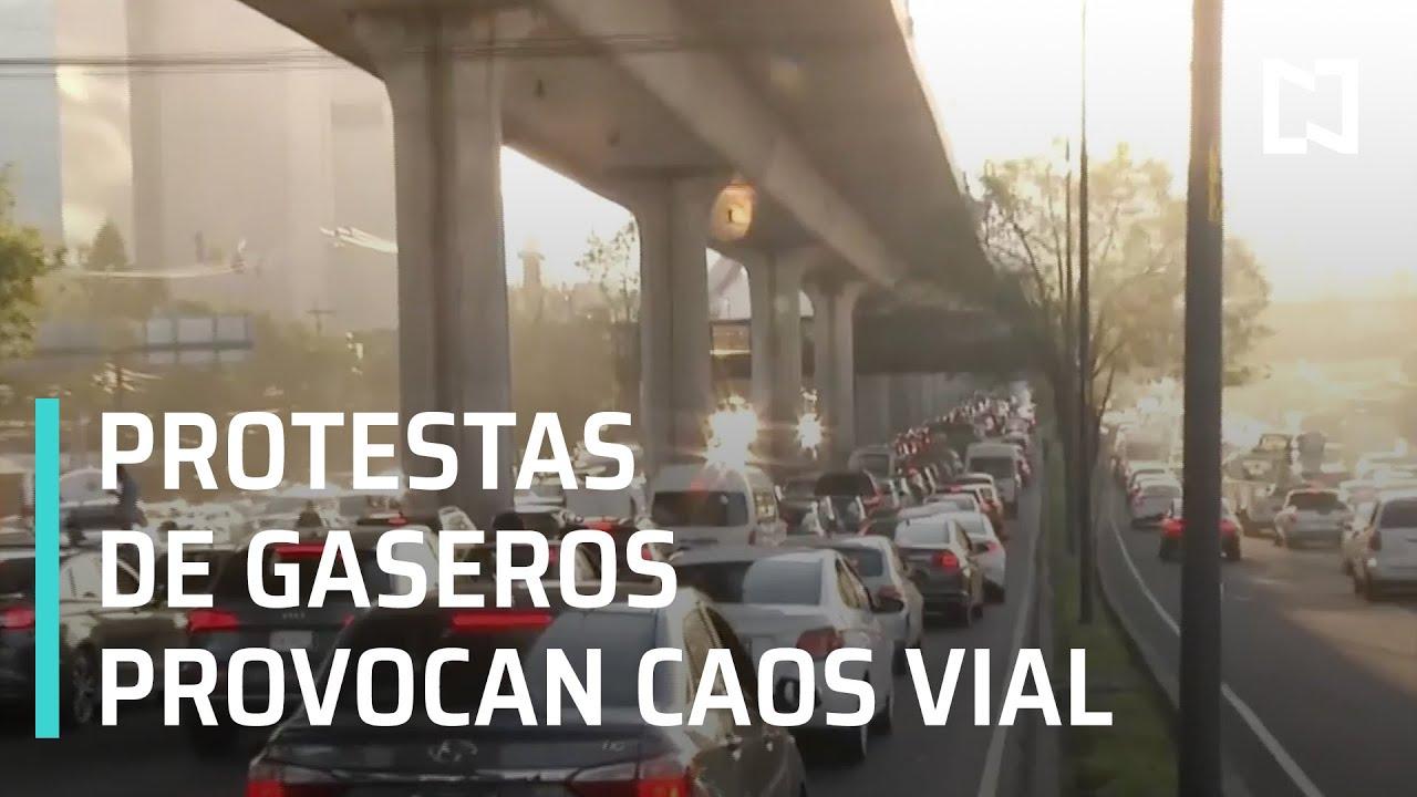 Caos vial por bloqueo de Gaseros
