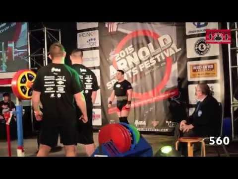 John Downing Arnold Raw Challenge 2015
