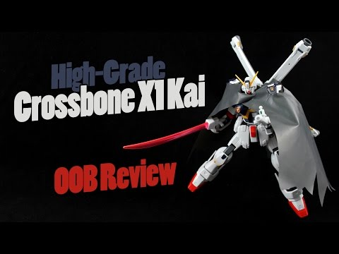 415 - HGUC Crossbone Gundam X1 Kai (OOB Review)