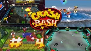 Jugando Crash Bash - # 4 ( Trofeos - Pogo-a-Gogo y Space Bash )