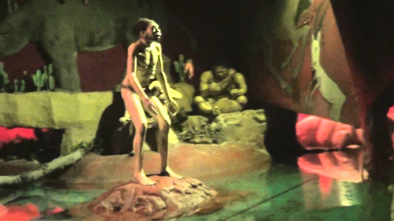 Blackpool Pleasure Beach - River Caves Music -Dinosaur Scene