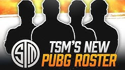 """TSM's """"NEW"""" PUBG PRO SQUAD 
