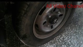 How to Change a tyre / change flat tyre step by step guide