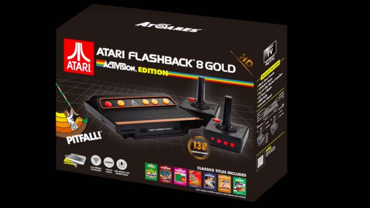 Atari Flashback 8 Gold Activision Edition Official Trailer Youtube