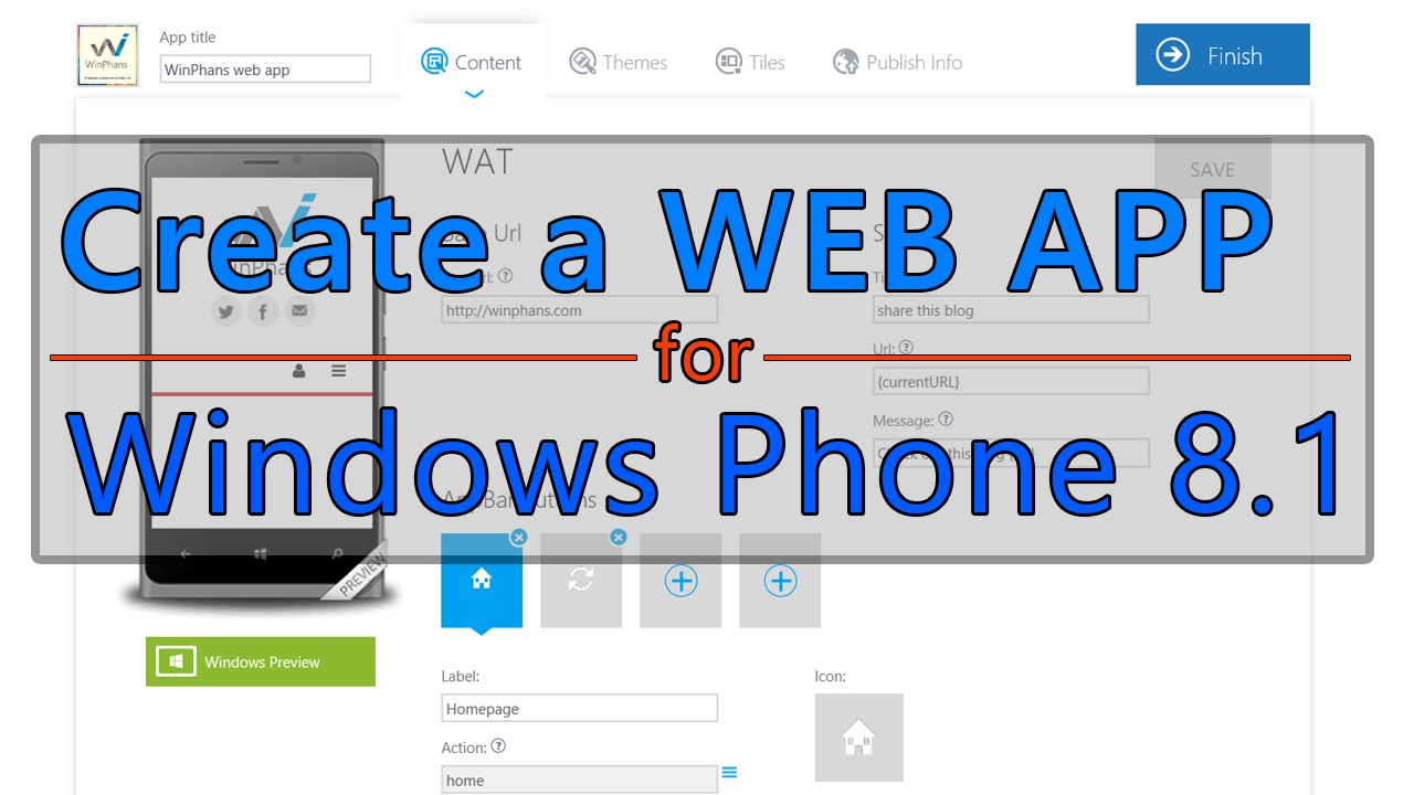 how to create video tutorial for a web app