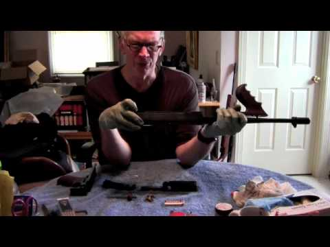 How do you disassemble a smith and Wesson model 539