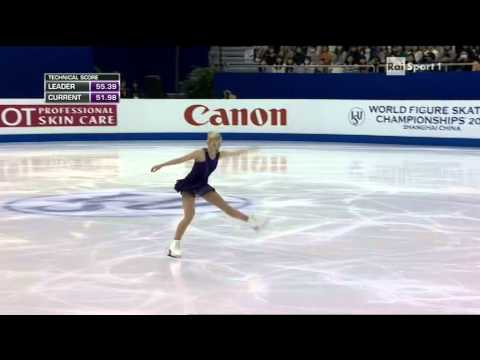 2015 Figure Skating World Champs Shanghai - ladies - FP - Gracie GOLD