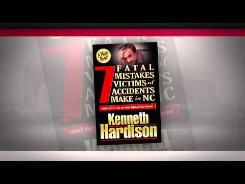 Free North Carolina Auto Accident Book From Hardison & Cochran