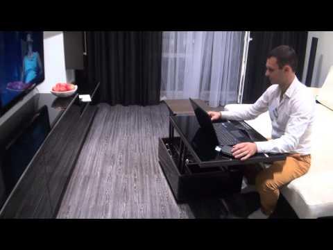 Корпуса-столы от Lian Li на выставке Computex 2014
