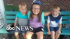 3 siblings killed in car crash at school bus stop