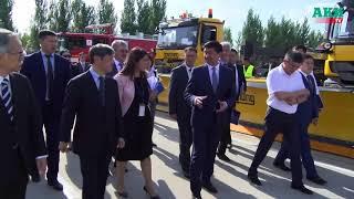 Аэропорт «Манас» получил новое аэронавигационное оборудование и специализированную автотехнику