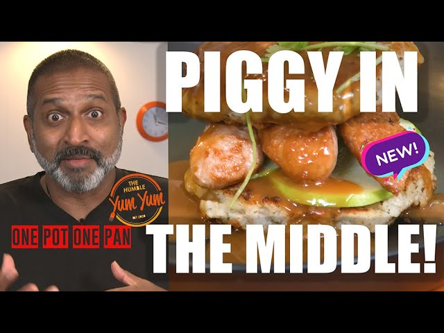 PIGGY IN THE MIDDLE!. Feed 4 for under $20! ONE POT - ONE PAN