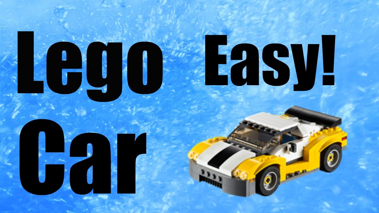 how to build a lego car easy youtube. Black Bedroom Furniture Sets. Home Design Ideas