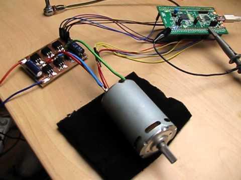 STM32F051, diy 3-phase powerstage, sensored BLDC
