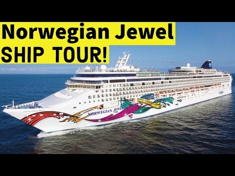 NORWEGIAN JEWEL SHIP TOUR L Post Dry Dock L CRUISE VLOG