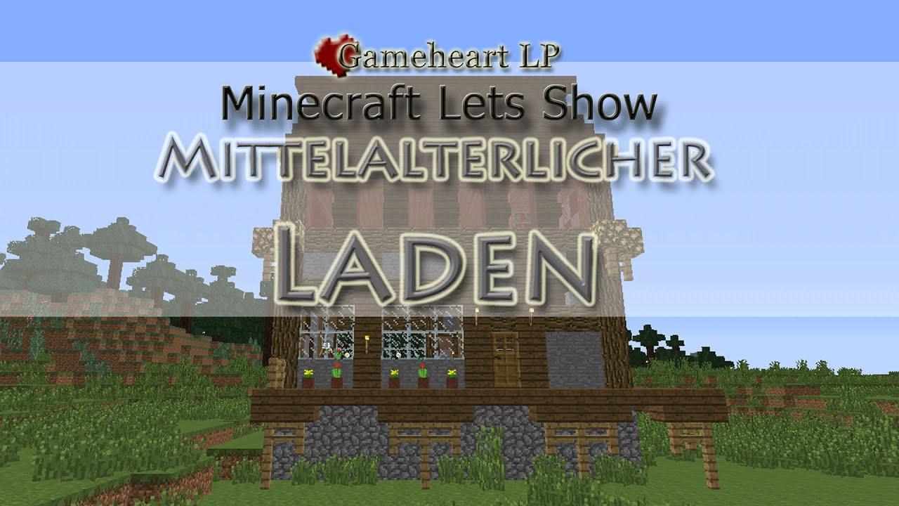 Minecraft Mittelalterlicher Shop Lets Show Minecraft YouTube - Minecraft mittelalter haus schematic