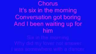 6 am Melanie Fiona Lyrics