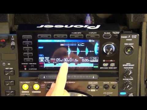 Pioneer CDJ2000 Nexus Rekordbox Features And Tutorial