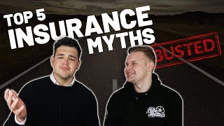 TOP 5 MOTORCYCLE INSURANCE MYTHS *BUSTED!*