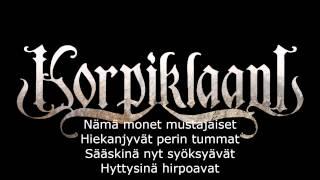 Korpiklaani - Surma (Lyrics)