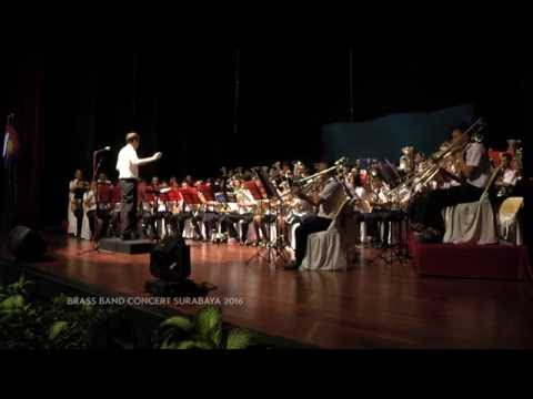 Indonesia Raya | Brass Band Concert, Surabaya - 2016