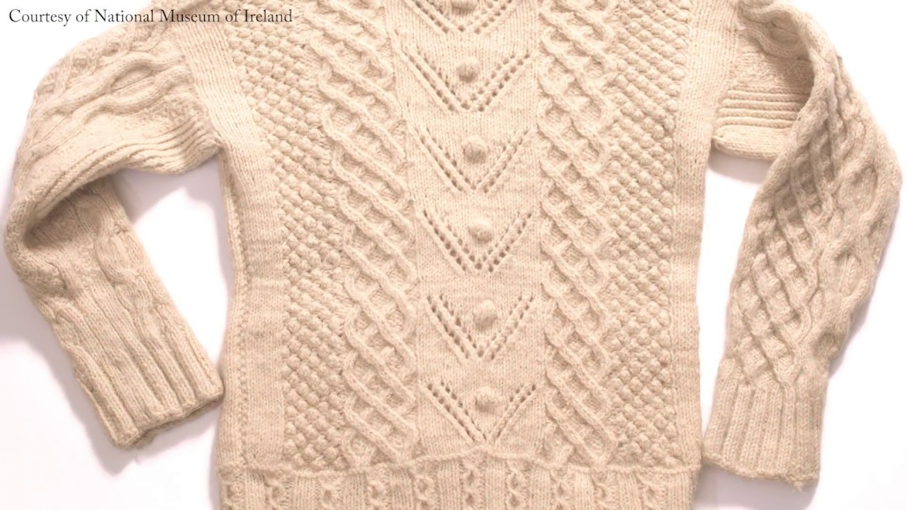 7027b6a1bd8a The Design of the Aran Sweater - YouTube