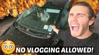 NO VLOGGING ALLOWED!!