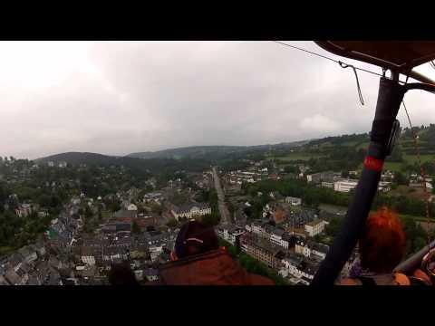 Vol en montgolfière - Décollage Aérodrome de Spa vers Malmedy