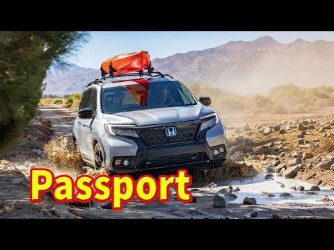 2019 honda passport spy photos | 2019 honda passport off road | 2019 honda passport reveal