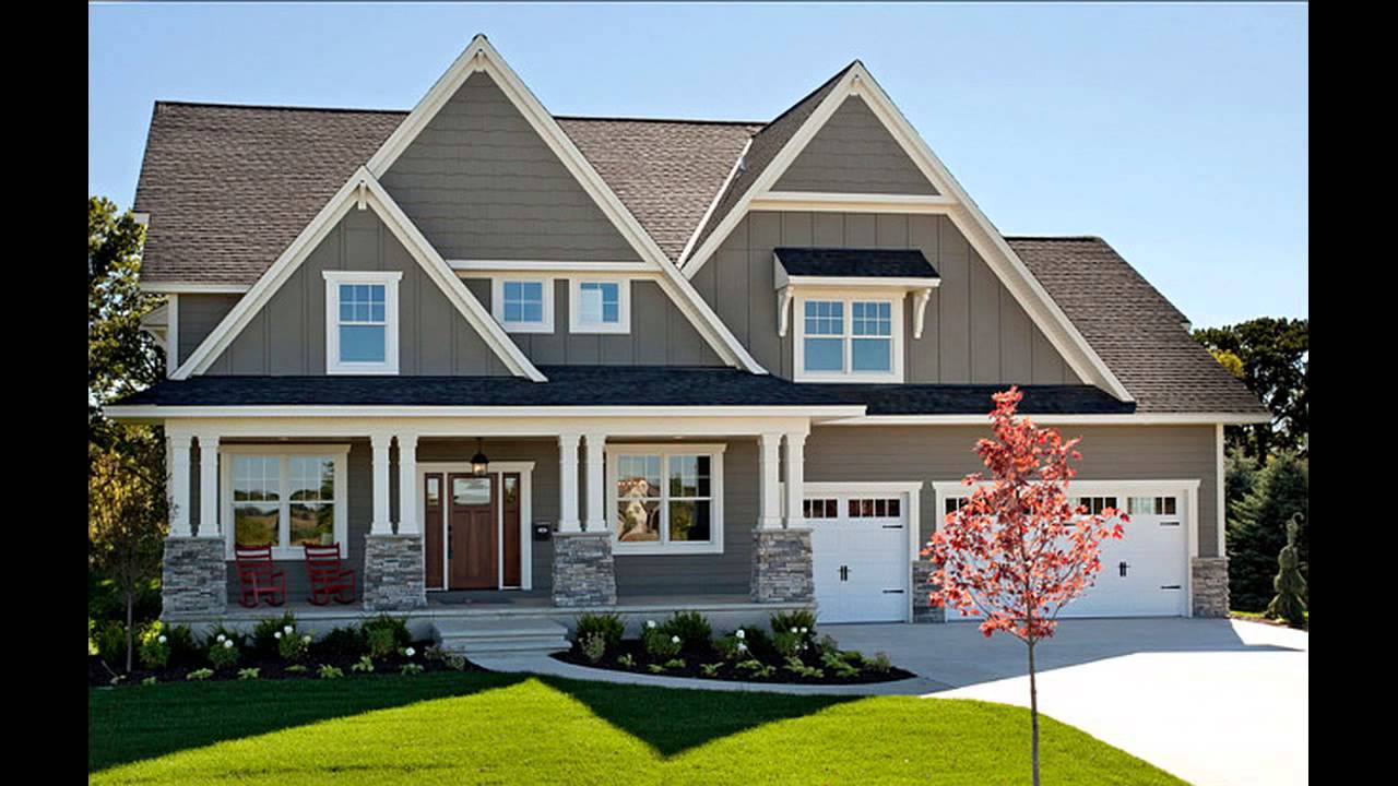 Exterior House Colors Sherwin Williams - YouTube